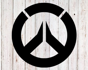 Overwatch Decal, Yeti Decal, Game Decal, Video Game Decal, Overwatch Sticker, tumbler decal, yeti sticker, vinyl decal, car decal, laptop