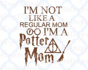 Potter Mom SVG,EPS,PNG,Studio