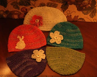 Handmade sparkling hat