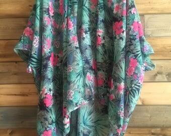 Jungle Floral Kimono