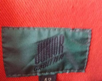 Vintage Junior gaultier denim jacket button down/size 42/marron/japan style/italiano/milano