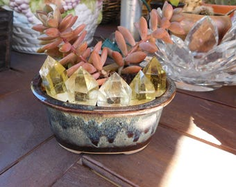 Lemon Quartz Points