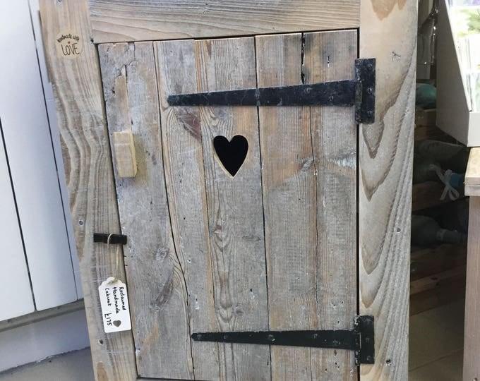 Hand Made Bespoke Rustic Cabinet