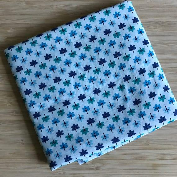 Furoshiki Gift Wrapping Cloth - Large Japanese Cotton Furoshiki - Tiny Tree Design by Kendo Girl