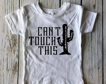 Can't touch this, Toddler shirt, trendy toddler, Baby gift, Baby outfit