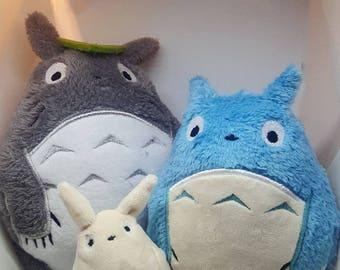 Totoro plush family