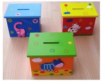 Money Box, Personalised Free !