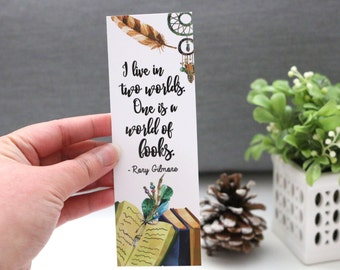 I Live in Two Worlds Bookmark - TV Series