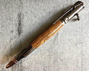 Custom Handmade Bolt Action Rifle Ballpoint Pen