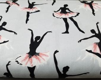 Ballet - ballerina - TUTU - dance - dancer  - degas - inspired  - dance - print -  quilting - cotton  - fabric