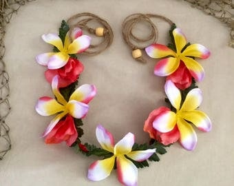 Moana, Tropical, Hawaiian flower crown
