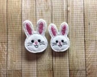 Bunny Feltie Embroidery Design