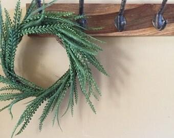 Greenery Wreath, Mini Wreath, Farmhouse Decor, Fixer Upper Decor, Wedding Decor