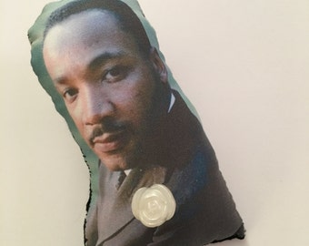 Martin Luther King Jr Puffy Pin
