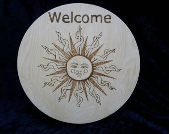 Sun snake design wellcomes your family and friend to your home
