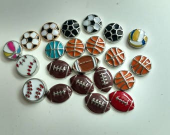 Sport Related Charms