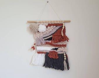 Wall weaving ethnic style