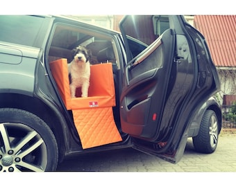 TRANSPORTER Back Seat for Dogs Safety in the Car Dog Seat Belt Car Bed
