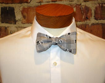 Old Cars Bowtie Bow Tie Made From Vintage Fabric