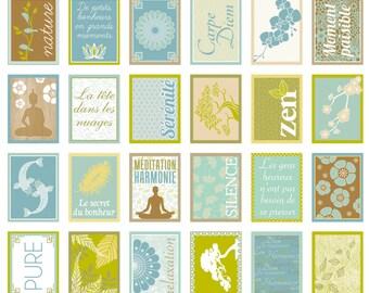 Santa Claus 64 stickers - Stickers Zen - Meditation 11004382 stamps