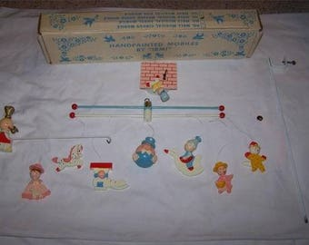 Mother Goose Mobile 1950-60