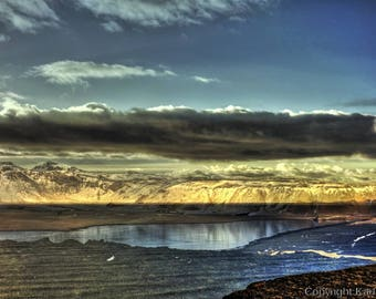 Iceland Southcoast Cap Dyrholaey Photographic Art