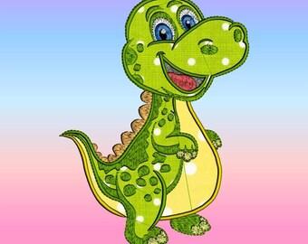 Applique Baby Dino