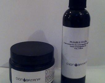 1, Pure Batana Oil 4 oz & 1,  4 oz Pliable Hair package. Free US Shipping 3 - 5 days!