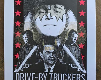 2010 Drive-By Truckers Nashville gigposter