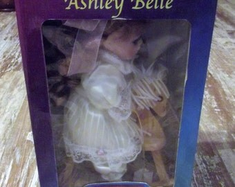 "Genuine Fine Bisque Porcelain Doll by Ashley Belle Collection, ""Nomnan"""