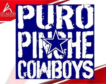 Puro Pinche Cowboys Decal