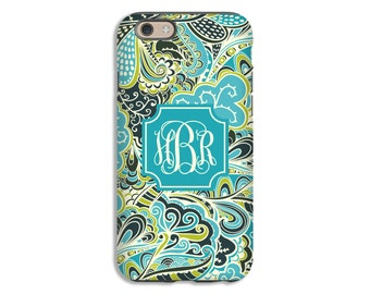 Monogram iPhone 7 case, floral iPhone 7 Plus case, boho iPhone 6s/6s plus case, girls iPhone cases, iPhone SE case, 3D cases, iPhone 5s case