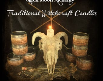 Traditional Witchcraft Familiar Scented Soy Candles