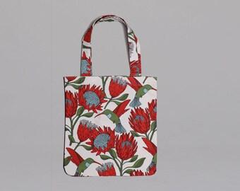 Tote Bag: Protea Cream