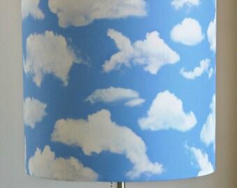Cloud Animals lampshade, baby room, find the hidden animals, creative lighting, kids room
