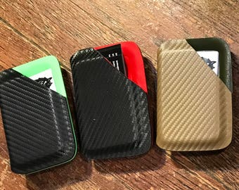 Two tone kydex front pocket wallets