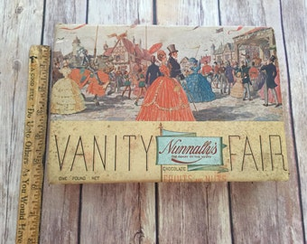 Vintage Vanity Fair Chocolate Box
