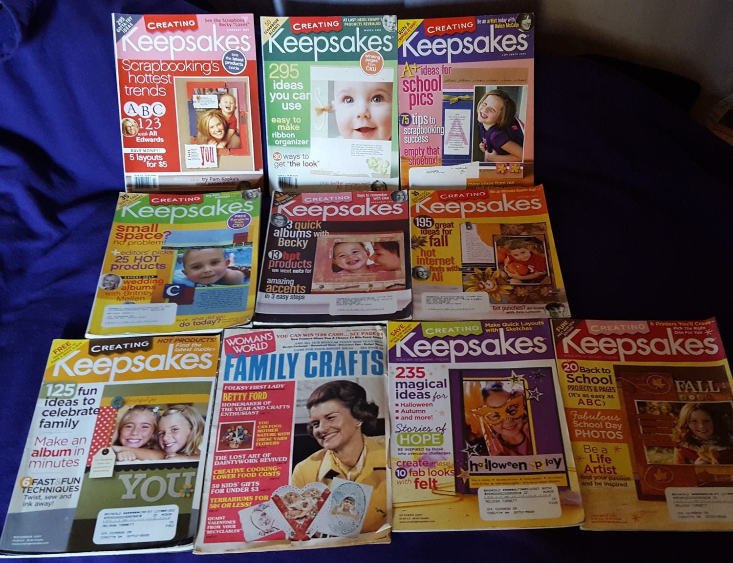 How to scrapbook magazines - Sold By Gamiigarage