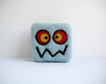 Felted soap - Light blue