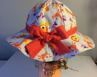 Baby sun hat, infant hat, summer hat