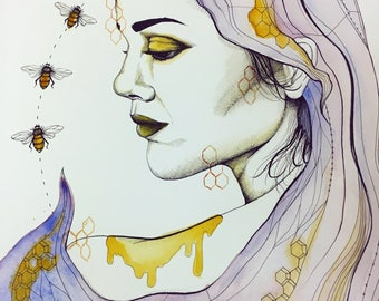 Oh Honey original painting