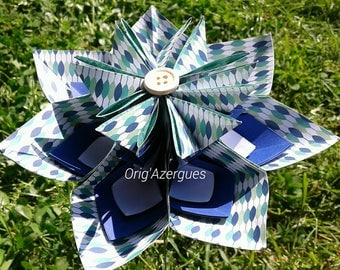 """My star"" origami flower"