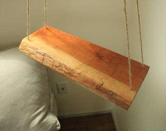Natural Hanging Side Table