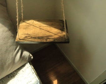 Dark Distressed Hanging Table