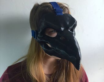 Nevermore Reaper Mask with STRAPS, from Overwatch, Cosplay Prop