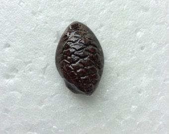 Mini half shell pinecone