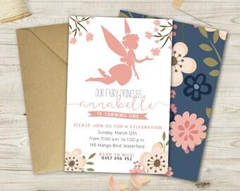 Garden Fairy Invitation