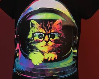 Space Kitten Neon Shirt