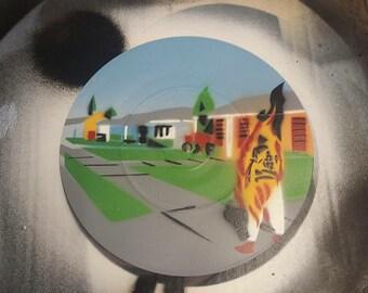 "Bad Religion - Suffer - Custom 7"" EP Stencil Art"