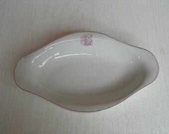 Antique 1880s Limoges porcelain bowl